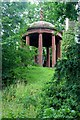 NT5832 : Temple of the Muses, Bass Hill, Dryburgh by Alan Reid