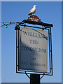 TQ9419 : William The Conqueror sign by Oast House Archive