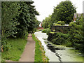 SD7807 : Bridge Abutment; Manchester, Bolton and Bury Canal by David Dixon