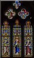 SK8333 : Stained glass window, St James's church, Woolsthorpe by Belvoir by Julian P Guffogg