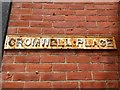 SZ1292 : Pokesdown: cast iron name sign on Cromwell Place by Chris Downer