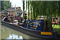 SP4264 : Fuel being delivered by narrowboat to The Blue Lias public house by David Martin