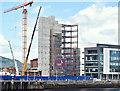 J3474 : CQ2, City Quays, Belfast - July 2016(3) by Albert Bridge