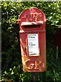 TM0580 : Low Common George V  Postbox by Adrian Cable