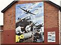 J3272 : Polish Air Forces (Polskie Siły Powietrzne) mural, Benburb Street, Belfast � August 2016(1) : Week 31