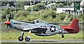 J4973 : Preserved P51 Mustang (G-SIJJ), Newtownards (August 2016) by Albert Bridge