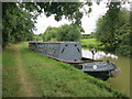 SP7647 : Narrowboat by Grand Union Canal by Oast House Archive
