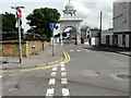 TQ6573 : The approach to Gravesend's Sikh Temple by John Baker