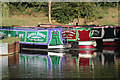 SP6459 : Narrowboats at Stowe Hill by Oast House Archive