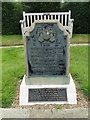 TG2008 : Baedeker Raid Memorial in Norwich Earlham cemetery by Adrian S Pye