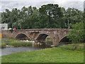 NY5329 : Brougham Castle Bridge by David Dixon