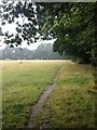 SP1177 : Towards Bills Lane by Dave Thompson