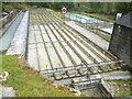 SX0055 : Rough Settling Troughs China Clay Museum by Nigel Mykura