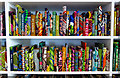 """TR3571 : """"The British Library"""" (Detail), Yinka Shonibare, Turner Contemporary, Margate : Week 34"""