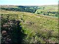 SE0228 : Moorland path, Midgley by Humphrey Bolton