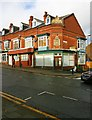 SP0581 : Premises on the corner of Bournville Lane & Bond Street, Stirchley, Birmingham by P L Chadwick