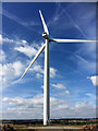 SE4106 : Park Springs wind farm turbine 2 by Steve  Fareham