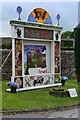 SK2276 : Well dressing at Eyam by David Martin