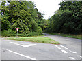 SP9260 : Junction of Dungee Road and Harrold Road by Robin Webster