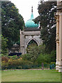TQ3104 : North entrance, Royal Pavilion Gardens by Julian Osley