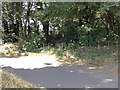 TR3547 : Junction of Hangman's Lane and Ringwould Road by Hugh Craddock
