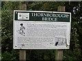 SP7233 : Thornborough Bridge [6] by Michael Dibb