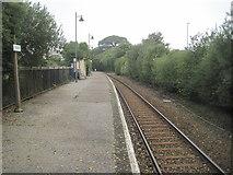SW9961 : Roche railway station, Cornwall by Nigel Thompson