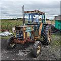 SJ6894 : Dilapidated Tractor, Little Woolden Hall Farm, Glazebrook : Week 38