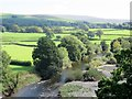 SD6178 : River Lune at Kirkby Lonsdale by Phil Platt