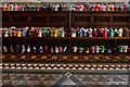 TA0322 : Barton on Humber, St. Mary's Church: The attempt to beat the world record (15,534) for knitted teddy bears 8 : Week 38