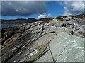 NG1289 : Rock, Àird Mhòr, Harris by Claire Pegrum