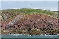 SS1495 : Chapel Point, Caldey Island by Alan Hunt
