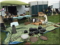 SP2970 : Traditional travellers' homewares on display, Kenilworth Horse Fair by Robin Stott
