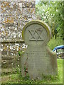 SO7937 : Grave headstone with Star of David by Jeff Gogarty