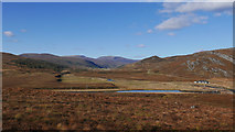 NH3770 : View up Strath Vaich from above Black Bridge by Julian Paren