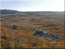 NH3769 : Terrain of the Corriemoillie Forest by Julian Paren