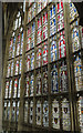 SO8318 : Great East Window, Gloucester Cathedral by Julian P Guffogg