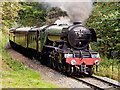 SD7914 : The Flying Scotsman on the East Lancashire Railway by David Dixon