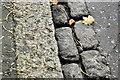 J3773 : Granite kerbstone and setts, Belfast (October 2016) by Albert Bridge