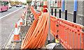 J3573 : EWAY works, Albertbridge Road, Belfast - October 2016(3) by Albert Bridge