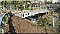 J3673 : New footbridge, Knock River, Belfast (October 2016) by Albert Bridge