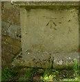 SK7734 : Bench mark, St Peter and St Paul Church, Barkestone-le-Vale by Alan Murray-Rust