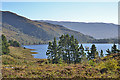 NG9957 : Looking south east over Loch Clair by Nigel Brown