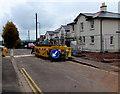 ST3091 : House construction site, Woodlands Drive, Malpas, Newport by Jaggery