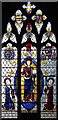 TL3256 : St Helen & St Mary, Bourn - Stained glass window by John Salmon