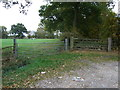 SJ7162 : Field entrance off Dragon's Lane by JThomas