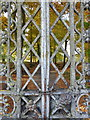 NN8618 : Gate detail, Drummond Castle : Week 44