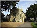 SP5829 : Holy Trinity Roman Catholic church, Hethe by Jonathan Thacker