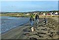 NS2108 : Walking On Maidens Shore by Mary and Angus Hogg