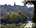 SK4004 : Bosworth Road towards Market Bosworth : Week 44